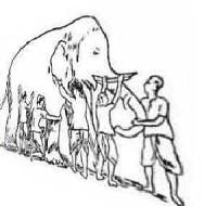 Слепые и слон. Притча